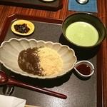 紫野 和久傳 丸の内店 茶菓 - できたてわらび餅