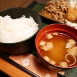 51059934 - ご飯・味噌汁