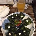 Touryuumon - 生ビールとおまかせ