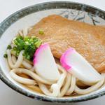 天野製麺所 - 味が濃いと思いました。