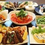 夢の蔵 - 料理写真:2700円大皿コース