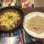 カレー食堂 心 - 「3種のチーズ焼きカレー」980円