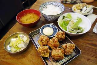 鳥番長 上野昭和通り店 - から揚げ定食