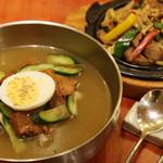 クックハン - ムル冷麺プルコギセット