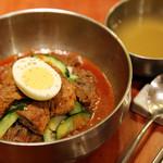 クックハン - ピビン冷麺