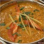 インディアンレストラン アールティ - 鶏挽肉のキーマ