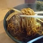 麺屋 丸鶏庵 - 麺リフト