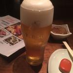 あか豆 - ビール