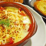 bisteria-odebu - ハンバーグチーズグラタン