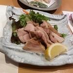 神楽 - 阿波尾鶏の塩焼き♪
