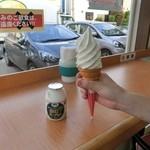 みるく工房タンポポ - 飲むヨーグルト&ソフトクリーム