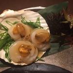 51089947 - ホタテのウニ醤油焼き