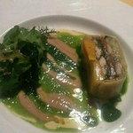 セレスティ - 青魚をモチーフとしたテリーヌ