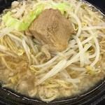 島系本店 - 魚介豚骨ラーメン