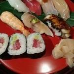 寿司・日本料理 さわ田 - 握りはとれもこれもひと手間掛かっていてハイレベル