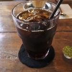 カフェ クオーク - アイスコーヒー