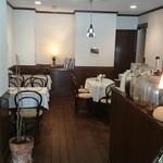 日洋堂 - レトロなレストラン風のカフェスペース~♪