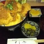 天ぷら和食 さくや - 大あさり味噌かつ丼☆920円 ♪