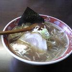味楽 - 焼きしょうゆラーメン 2008.5