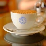 CAFE DROME - シナモンたっぷりカプチーノ