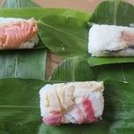 宮下商店 - 料理写真:さけ、しめサバ、ほっき貝