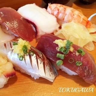 寿司源 - 2016 お昼のおまかせ握り!