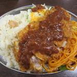 たまき食堂 - トルコライス小