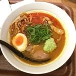 麺処 直久 - 華麗(カリー)なるスパイスそば 〜初夏の香〜 980円