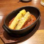 鯛バル - 鯛とチーズのオムレツ (626円) '16 4月上旬