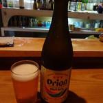 山羊料理さかえ - オリオンビール600円(税込)