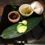 epais - ランチ前菜