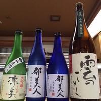 寿司一作 - 淡路島の地酒(都美人)