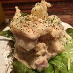 きのこ料理とアボカド料理の専門店 きのこの里 - しめじとベーコンのポテトサラダ