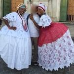 Coliseu Restaurante & Cultura - 民族衣装?に身を包んだブラジルのおねいさん達と撮影w