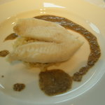 AUXAMIS 59 - まとう鯛の香草蒸 リゾット添え シャリアピンソース