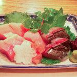 魚宏 - ヨコワとサワラ