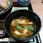串亭 - 味噌汁