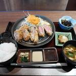 串亭 - 牛かつと贅沢御膳¥1000