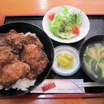 カントリ - カツ丼(ソース)