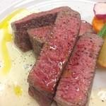 ツカサ - 赤身肉(上州牛)のステーキゴルゴンゾーラソース