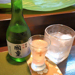 一善 - 日本酒と芋焼酎へ