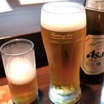 一善 - 生ビールへ