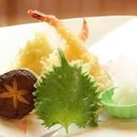 夢の蔵 - 天ぷら盛り合わせ