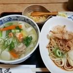 うどん山菜 塩屋 - 料理写真:海鮮塩セット 910円