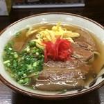沖縄食堂 運玉 - 三枚肉そば