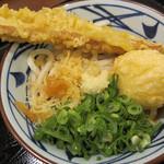 丸亀製麺 - ちく玉ぶっかけ