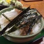 51121906 - イカ納豆丼(ミニ)