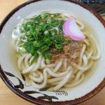 東筑軒 - かしわうどん360円