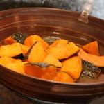 鳥乃炭家 - 【ランチ】かぼちゃのほっくり煮