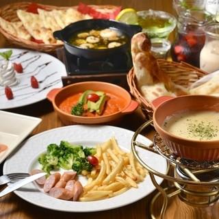 アジアン料理をベースに多国籍な料理をご提供